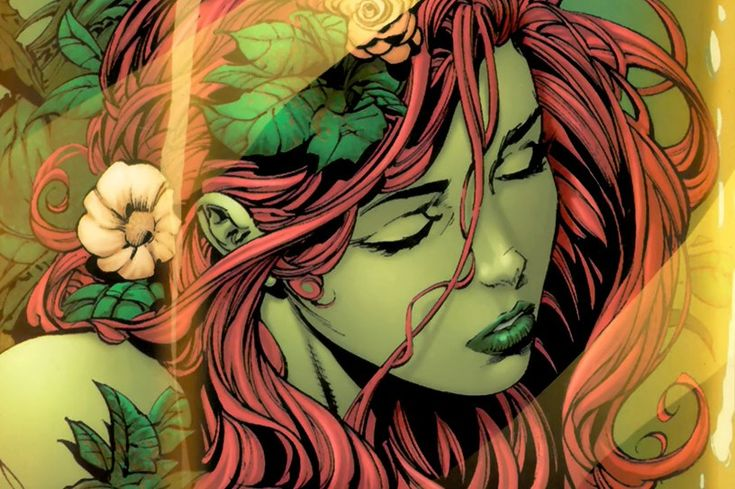 Poison Ivy - art by David Finch / Richard Friend