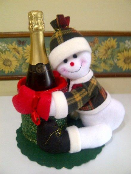 Bellos muñecos para decorar tu hogar en estas navidades elaborados ...