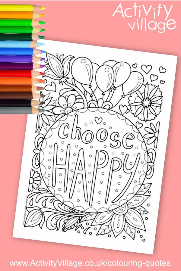 Such A Happy Colouring Page Click Through To The Website For The