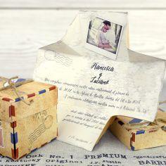 invitación paquete postal