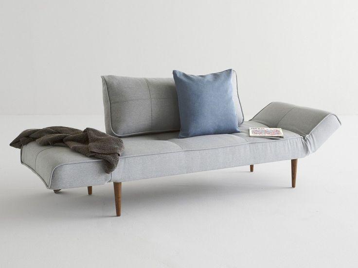 Innovation schlafsofa zeal in stoff grau beige oder blau for Schlafsofa zeal bow