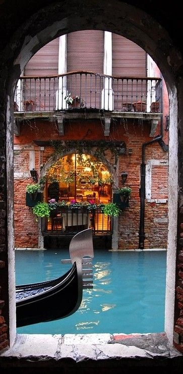 Canal portal in Venice, Italy • Octavian Radu Topai Photography on PhotoNet