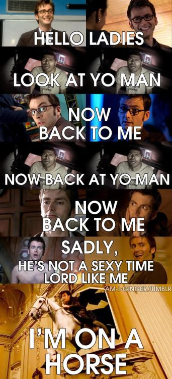 Tenth Doctor Old Spice