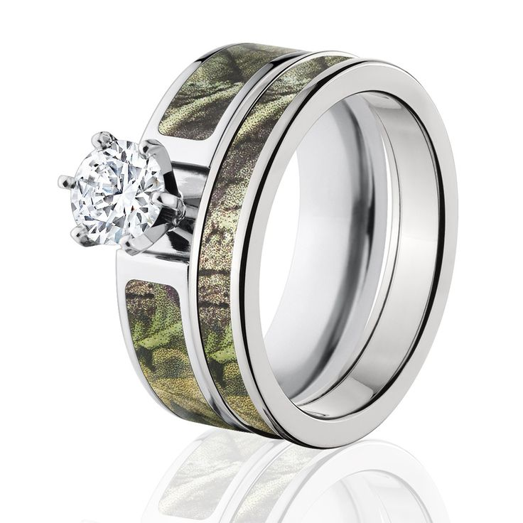 134 best Camo Engagement Rings images on Pinterest