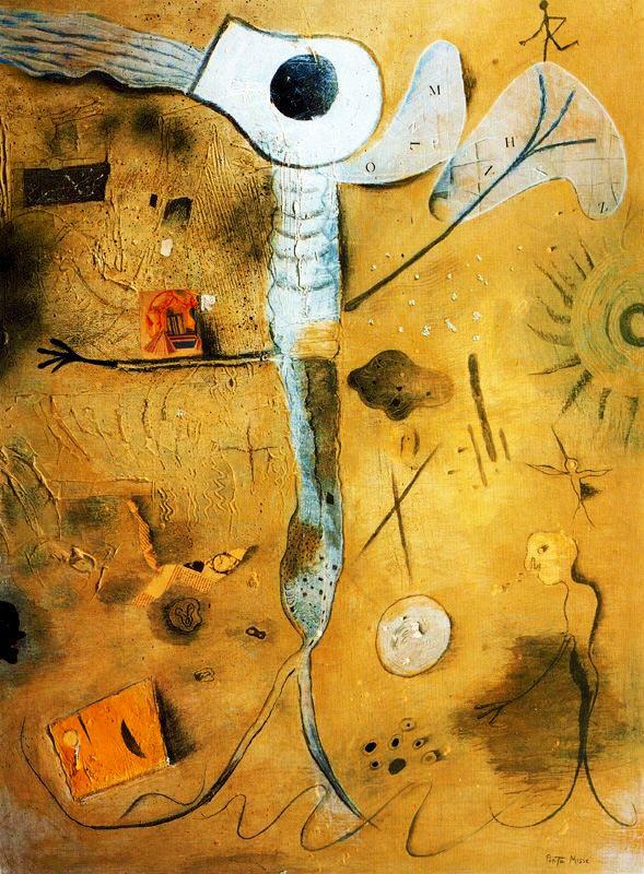 PORTA MISSÉ. Calamar y mariposa. 1989.