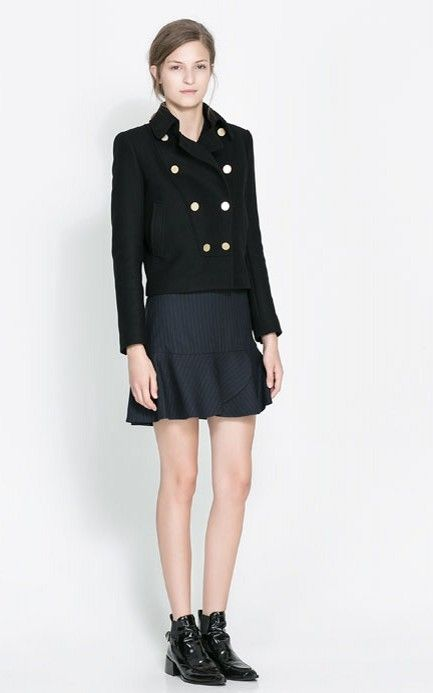 Fashioon Double Breasted Wool Jackets -$29.90 FREE SHIPPING