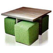 Accent Table & Stool Set Sofas Brighton