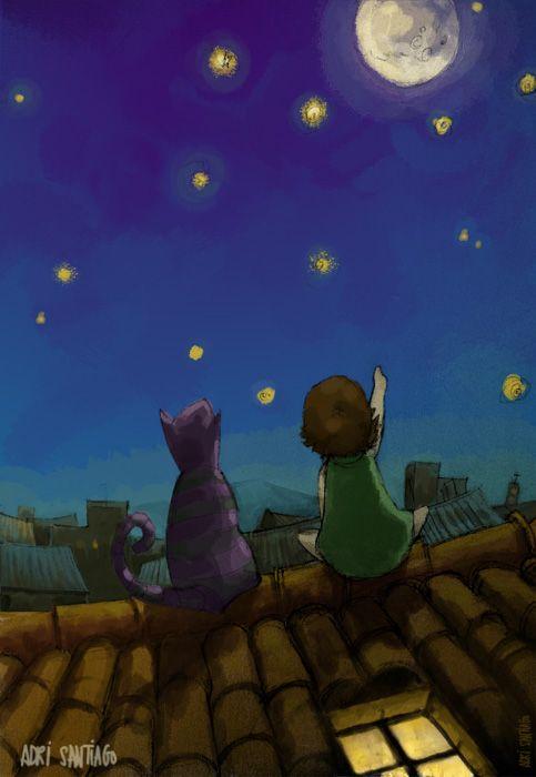 """""""Viendo las estrellas"""""""
