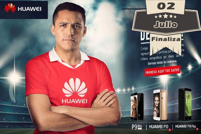 Concurso Huawei – Gana camiseta firmada por Alexis
