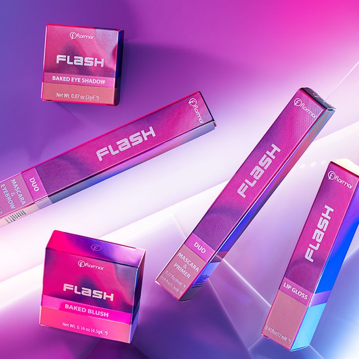 A new dimension for your make up bag! Future Flash Collection is here. #FutureFlash