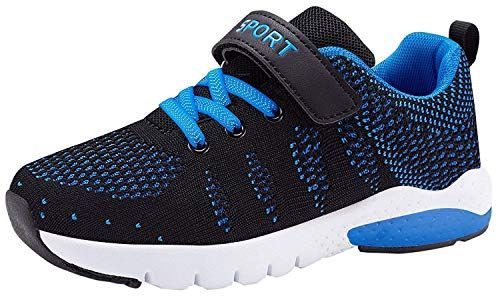 low priced 7d0ae 9ff21 Wonesion Boys Tennis Walking Running Shoes Lightweight Athletic Casual  Sneakers for Girl Kids