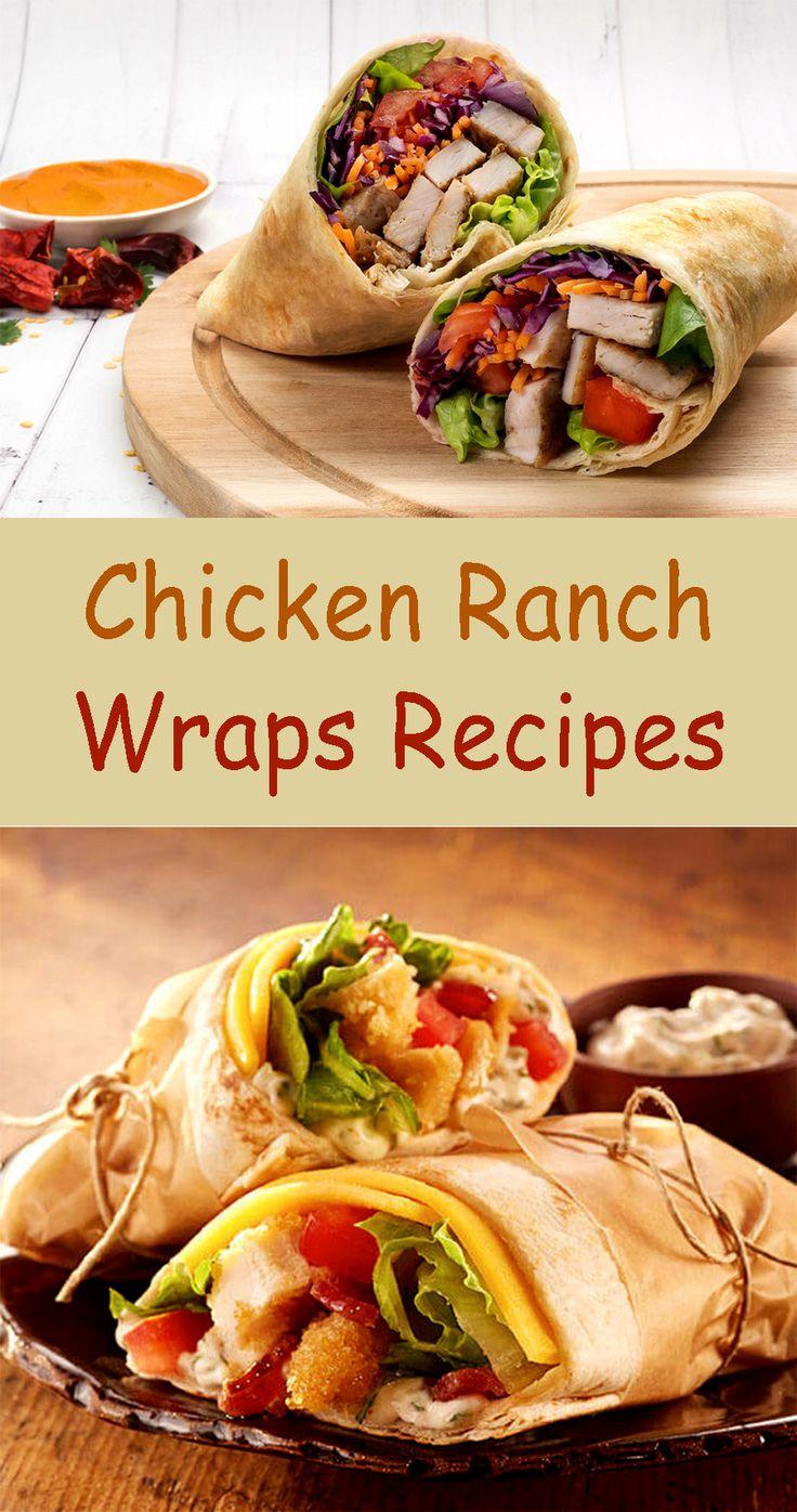 CHICKEN RANCH WRAPS REZEPTE   – Recipe