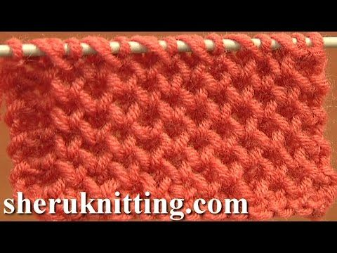 How to Knit the Moss Stitch - YouTube