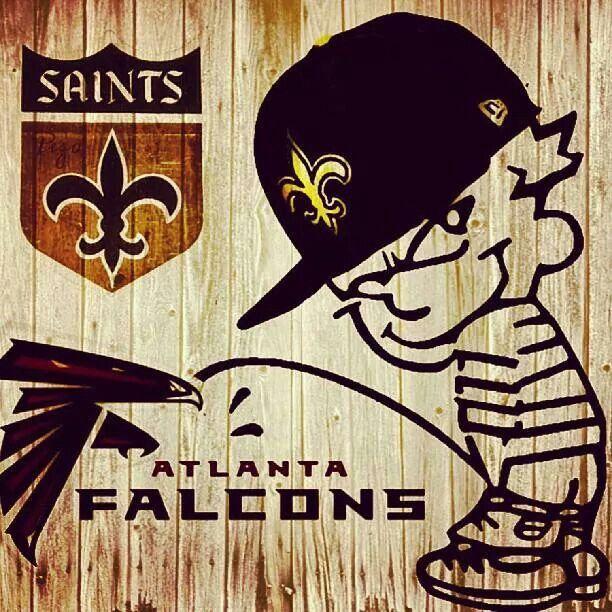 Saints Piss on the Falcons