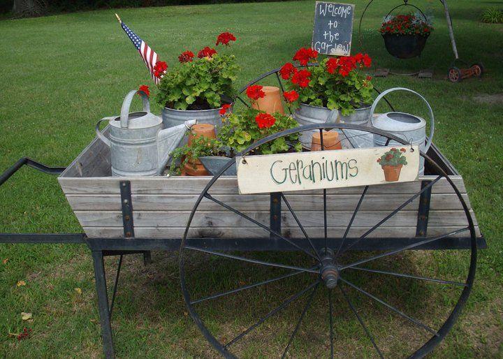 Fun And Flowery Flea Market Flower Carts Debbie McMurryu0027s Summer Themed Flower  Cart