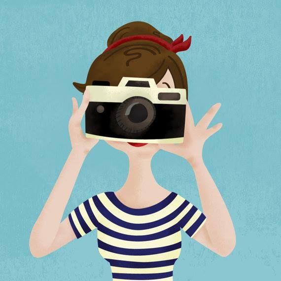illustration by Melissa Eagan   #camera