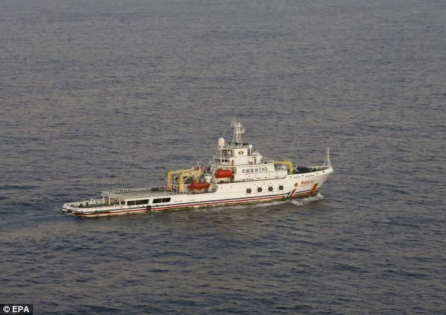 Have they found flight MH370? Search ship detects a black box 'pulse signal' from 3.5 miles below southern Indian Ocean and Chinese air force plane spots '20 pieces of debris'   Read more: http://www.dailymail.co.uk/news/article-2597630/Chinese-ship-looking-missing-Malaysia-Airlines-plane-detects-black-box-pulse-signal-southern-Indian-Ocean.html#ixzz2y4wUYB7n  Follow us: @MailOnline on Twitter | DailyMail on Facebook