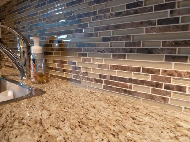 Best 25 Glass tile backsplash ideas on Pinterest