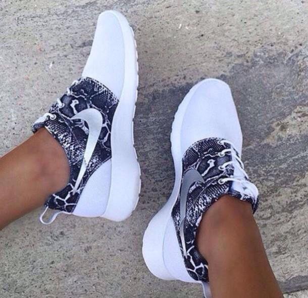 There are 4 tips to buy these shoes: nike nike roshe run nike snake print  scales roshe runs nikes white nike nike running nike sneakers nike free run  nike ...
