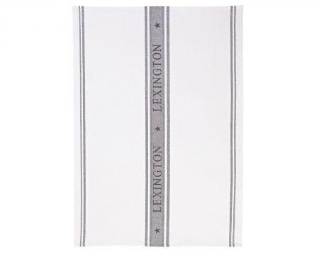 Star Collection Kitchen Towel, White/Navy