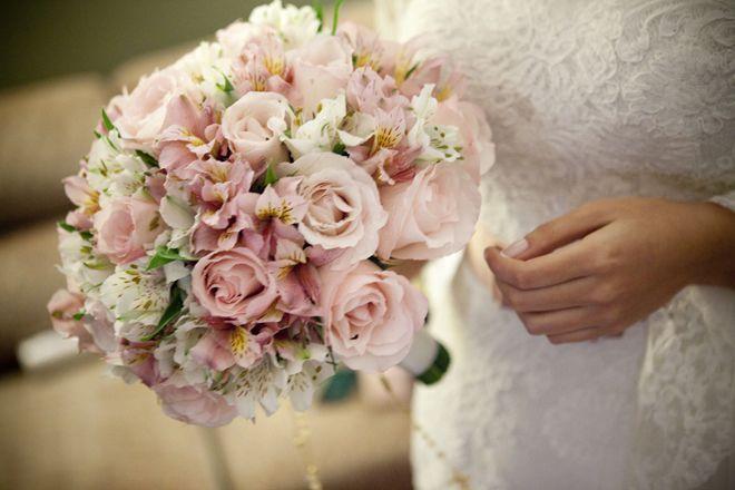 alstroemeria round bridal bouquet - Google Search