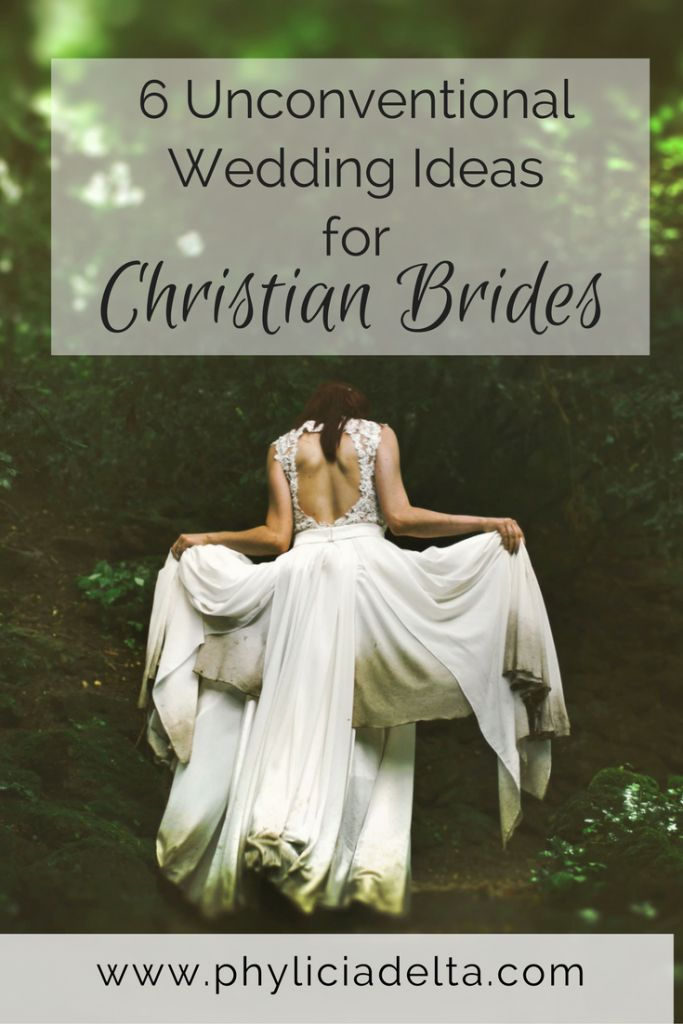6 Unconventional Wedding Ideas for Christian Brides