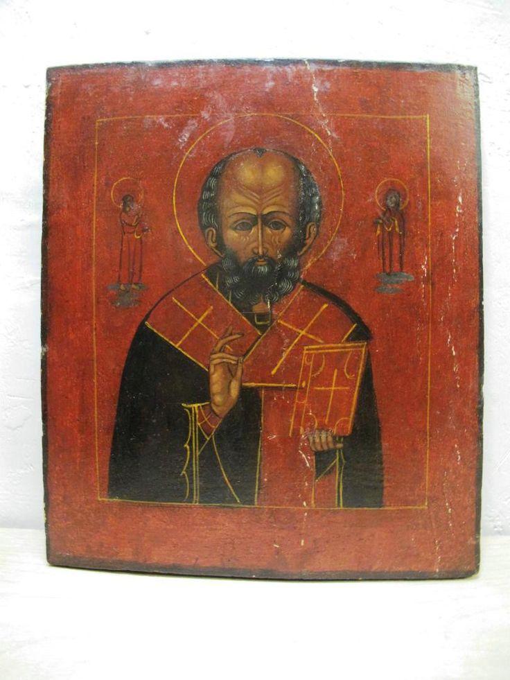 Икона Святитель Николай Чудотворец.
