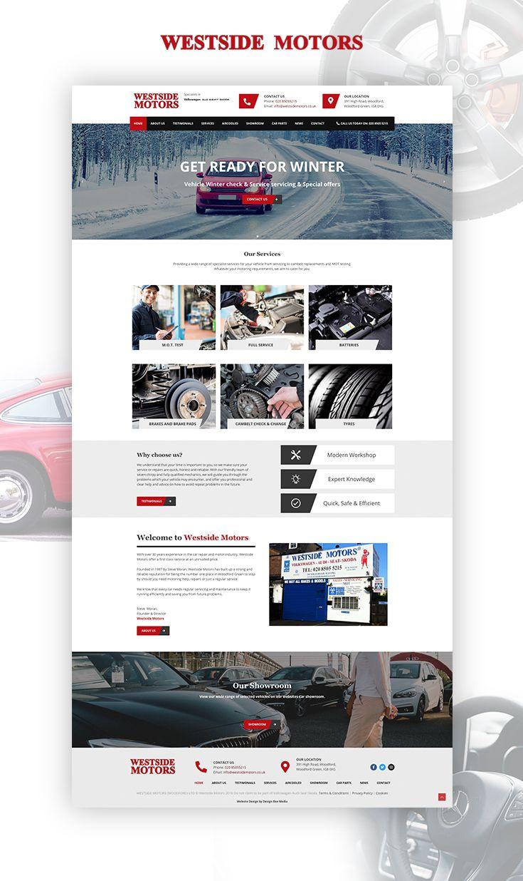 Garage Web Design In 2020 Website Design Web Design Digital Marketing Agency