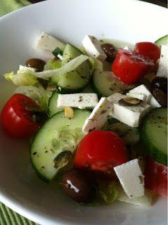 Carry's Kitchen: Recept: Griekse salade