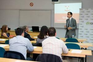 José María Palomares, director de Comunicación, Asuntos Públicos y Responsabilidad Corporativa de ING Bank España y Portugal, en el taller organizado por Dircom Castilla y León.