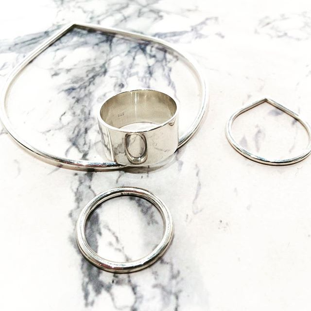 Beautiful Silver Jewellery by Georgina Dunn in store now...❤️