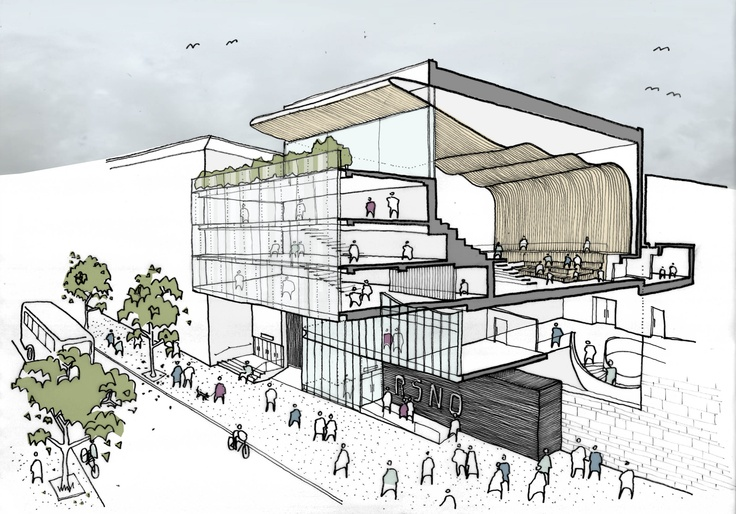 New Home: The new home will have a 600-seat auditorium, a fully equipped music library, ensemble rehearsal rooms and RSNO administrion offices.