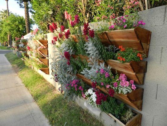 #PANDORAloves vertical gardening. #UrbanGardening #Flowers