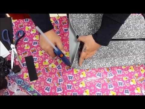 Tutorial borsa porta trucchi con Fommy (progetto Renkalik) by Rita Sperduti - YouTube