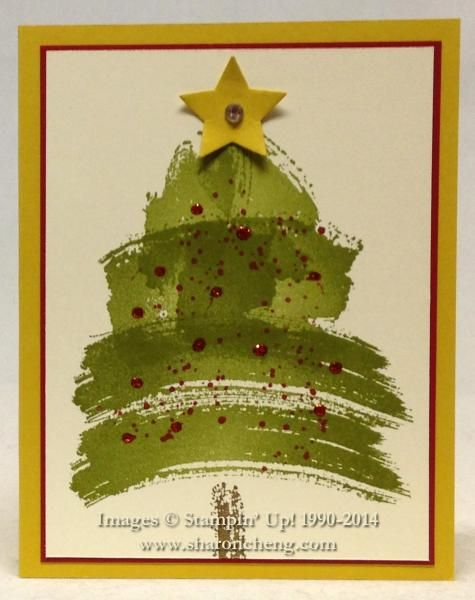 Work of Art Christmas Tree by ccc - Cards and Paper Crafts at Splitcoaststampers