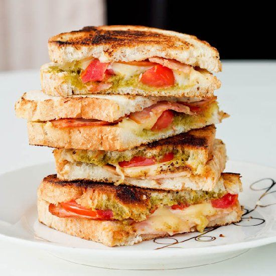 272 best images about Sandwich Recipes on Pinterest