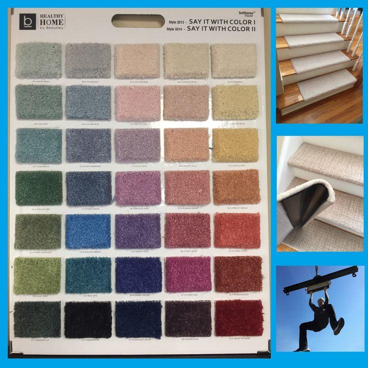 Alfa Dusk 100% Wool TRUE Bullnose™ Carpet Stair Tread JMish (Sold Per  Step/Each)