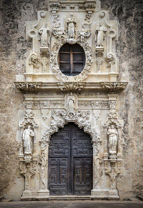 """© Pedro Lastra mission San Jose, Texas""   – Häuser"
