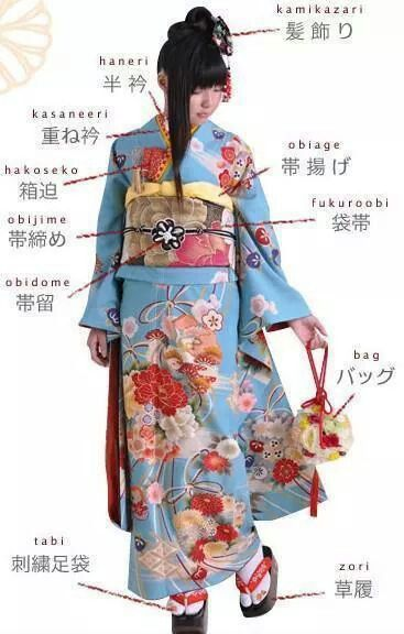 Kimono and Accessories See Geisha Reframed - 12 artists interpret this Japanese icon ~ http://goo.gl/DUP4XF