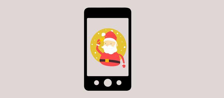 SantApp, sorprende a los peques con la llegada de Papá Noel