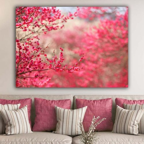 Spring blossom πίνακας σε καμβά