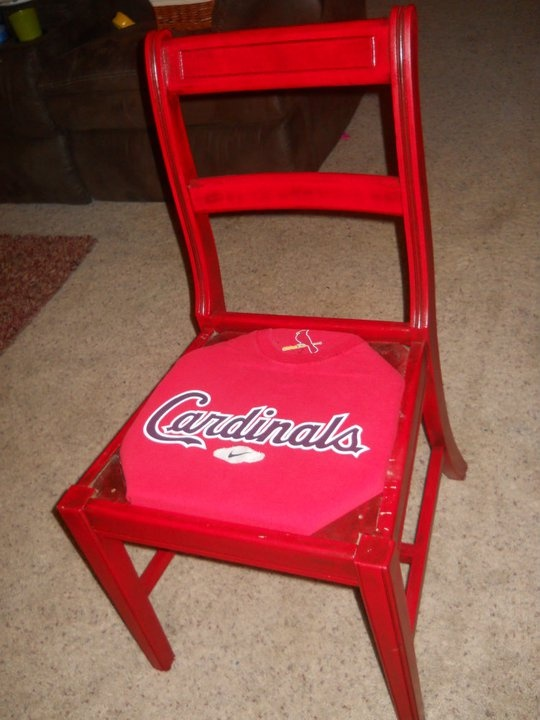 Another Goodwill Purchase I Got For A Couple Dollars And Created A St. Louis  Cards