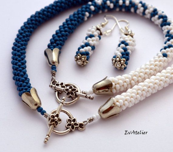 New from my Zen collection #EvAtelier #Etsy #jewelry https://www.etsy.com/listing/259417106/blue-and-white-zen-jewelry-ying-yang?ref=shop_home_active_1