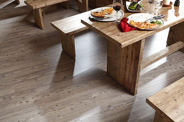 Schön Rustikaler Designboden. Sieht Super Aus Und Ist Dabei Robust Und  Pflegeleicht. #vinylboden #