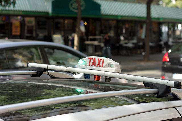 Taxi in Paris by David Lebovitz, via Flickr