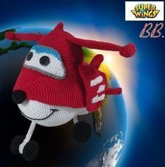 Superwings Amigurumi, patrón gratis