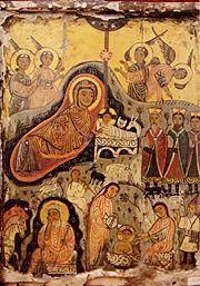 Natività del Signore Origine: Sinai Data: 7° sec.