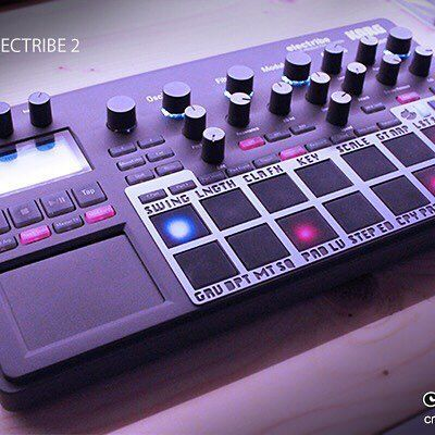 Electribe 2 SHIFT skin *update* > Design & Material improvements. Believe…