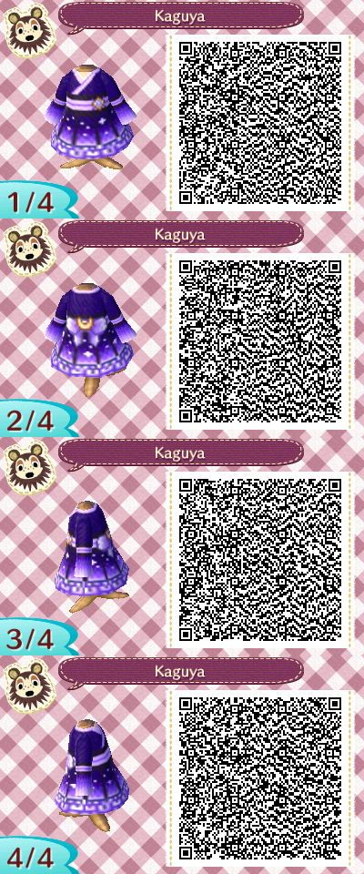 I'm not sure if this dress was based on Princess Kaguya's dress, because I don't remember it looking like this, but it's still a really pretty purple dress! (remember I did not make this design)