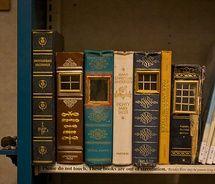 Ann Arbor Public Library Fairy House / beautyredefined - so cute!